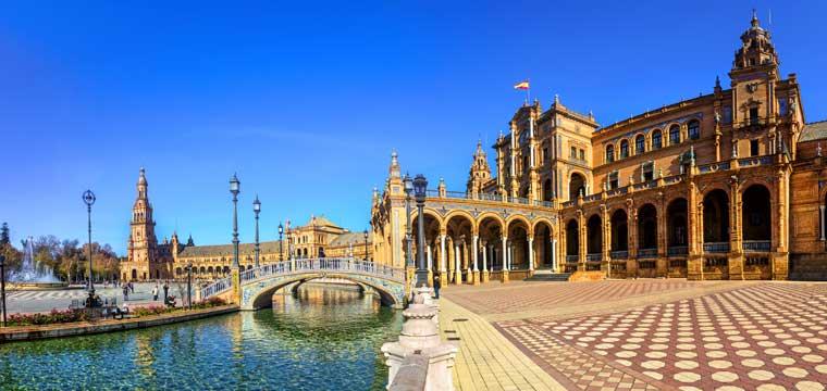 Plaza Espana, Andalusia, Southern Spain