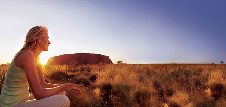 Visit Australia's iconic Ayers Rock