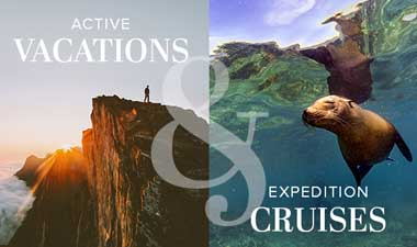 Active Vacations & Expedition Cruises