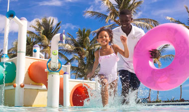 Kids under four stay FREE with Club Med